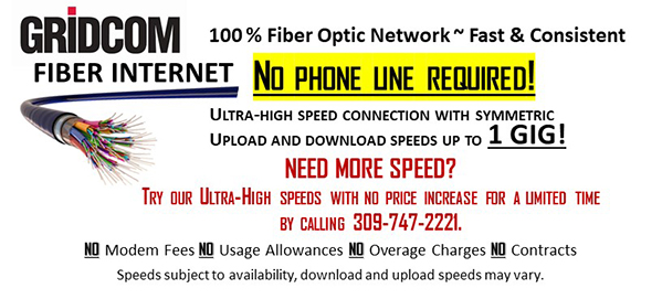High speed fiber internet